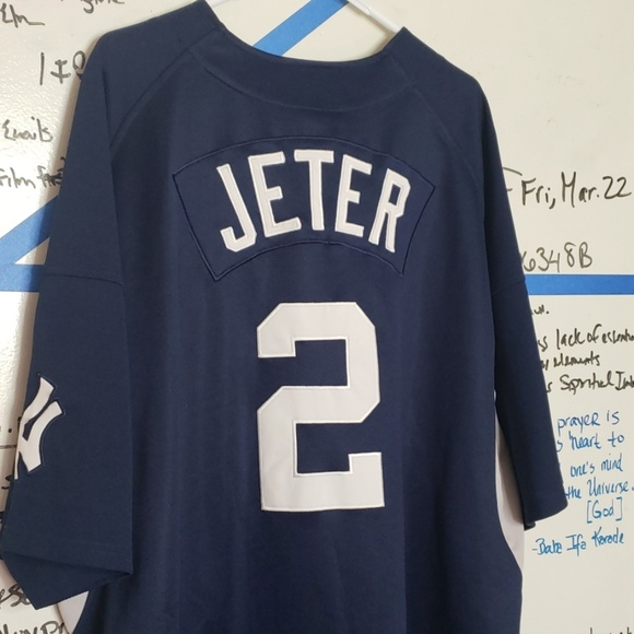new style 572b6 91d92 Derek Jeter NY Yankees Jersey